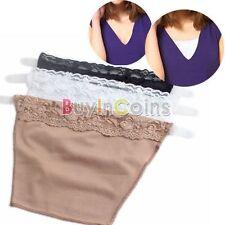 3Pcs Cami Secret Clip On Mock Camisole Woman Vintage Modesty Parody Panel Tube
