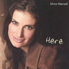 Idina Menzel - Here - 2004 pre-fame oop *MEGA RARE CD* 6 song ep *FREE SHIPPING*