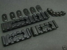 Airsoft (With Extra Long Screws) Metal Rail Set for MP PTS MOE Handguard
