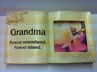 In Loving Memory Graveside  Memory photo Book -Grandma Grave Memorial