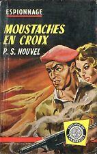 Arabesque Espionnage 191 - Paul S. Nouvel - Moustaches... - EO1961 - Jef de Wulf
