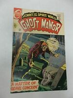 Ghost Manor #1 (Jul 1968, Charlton) ROCKE MASTROSERIO the old witch