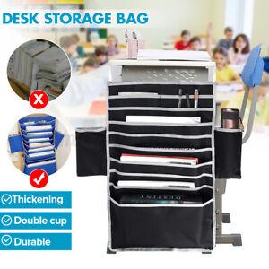 Hanging Magazine Book Storage Bag Office Baskets Pocket Table Book Adjustable
