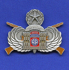US Army Combat Engineer 82nd Airborne SAPPER A Co EN 3rd BSTB OEF Challenge Coin