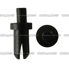 50 Push-Type Retainer Blk Nylon Clip For Saturn 2,4 Door A17227 For GM 21077405
