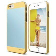 iPhone 6S Case, elago S6 Outfit Matrix Aluminum and Polycarbonate Yellow/Blue