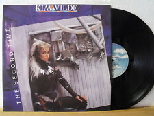 """12"""" Maxi - KIM WILDE - The Second Time  6:30min - Lovers On A Beach  7:45min"""