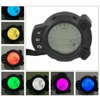 Universal Motorcycle Speedometer Tachometer Gauge 7 Color For Yamaha BWS125