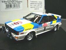 AUDI Quattro Rallye WM Gr.4 1982 San Remo Winner #9 Blomqvist Trofeu SP 1:43