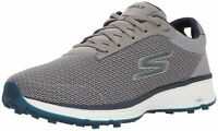 Skechers Golf Men's (7.5)Go Golf Fairway Golf Shoe, Gray/Navy, 7.5 2E US