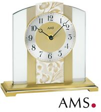 AMS Horloge de table 38 quartz élégante bureau Montre Watch pendulette 992