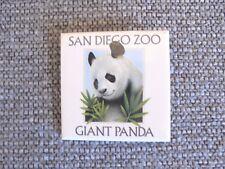 Vintage San Diego Zoo Giant Panda Souvenir Pinback