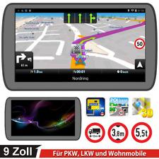 9Zoll GPS Navi Navigation Navigationsgerät für LKW PKW Bus Navi 8GB 256M Blitzer