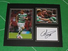 Stuart Armstrong Signed Glasgow Celtic FC 2016/17 Season Mount