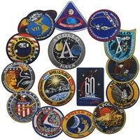 Apollo NASA USA Russia Space Flight Test Project Patches Pins Badges Emblems Lot