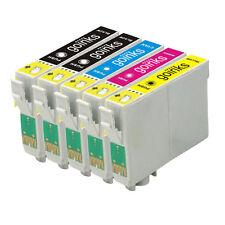 5 Cartucce d'Inchiostro per Epson Stylus SX235W, SX430W, SX440W