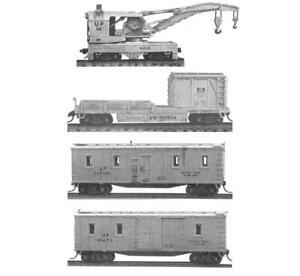 Tichy N Scale #2704 WRECK TRAIN SET   Bob The Train Guy