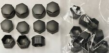 NEW GENUINE AUDI A2 A3 A4 A5 A6 Q5 17mm WHEEL NUT BOLT COVERS LOCKING CAPS x20 !