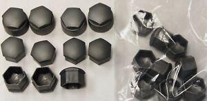 NEW GENUINE AUDI A2 A3 A4 A5 A6 Q5 17mm WHEEL NUT BOLT COVERS LOCKING CAPS x20 !