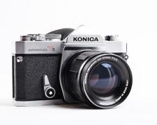 Konica Autoreflex T3 with Konica Hexanon AR 100mm f2.8