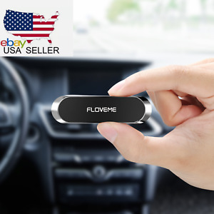 FLOVEME Magnetic Car Phone Holder Mini Strip Shape Wall Mount For iPhone Samsung