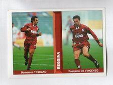 figurina PIANETA CALCIO 1996/97 NUMERO 493 REGGINA TOSCANO, DE VINCENZO