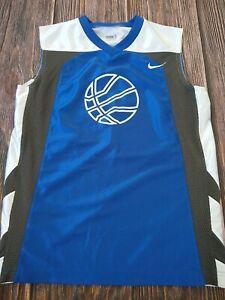 Nike Boys 10-12 Size Medium Basketball Jersey EUC