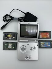Nintendo Gameboy Advance SP Silver Model AGS-001 - Used - In Great Condition