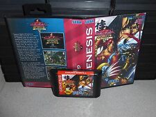 Samurai Spirits (showown) 2  for Sega Genesis! Cart and Box Fighting game
