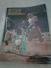 Beckett Football Complete Magazine Oct 1990~Jerry Rice 49ers/ Rookie Card Cover