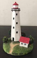 "Rare Gingo 4 3/4"" Tall Sandy Hook, Nj Lighthouse"