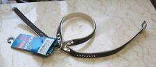 TRIXIE  brown soft faux leather harness with swarovski crystals XS-S (chihuahua)