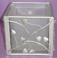 Island Creek Trading Co. Champagne Hearts Votive Holder