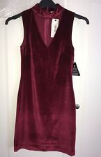 womens ladies sexy stretch velvet dress size 8 party formal evening clubwear