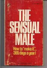 THE SENSUAL MALE ~ PINNACLE P045Z 1971 1ST PAUL WARREN