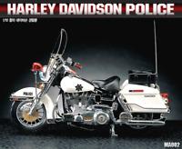 Academy 1/10 Harley Davidson Police Assemble Plastic Hobby Scale Model Kits