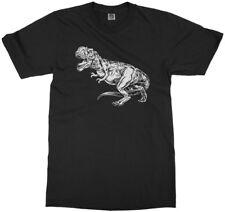 White Tyrannosaurus Rex Youth T-Shirt T-Rex Dinosaur