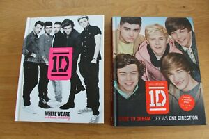 1D/ One Direction Collectable Book Bundle - Where We Are & Dare To Dream