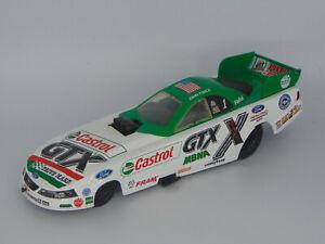 ACTION 2002 JOHN FORCE #1 CASTROL GTX DRIVE HARD MBNA MUSTANG FUNNY CAR 1:24
