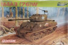 Dragon Model Kit 1/35 Sherman M4A3 76 W Premium Edition US Army WWII Armor 6325