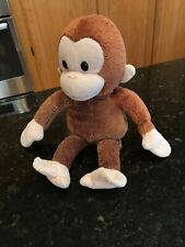 "Curious George monkey plush stuffed animal 11"""