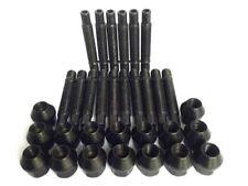 M12 x 1.5 90mm Stud Conversion Kit for BMW Inc Nuts (Black)