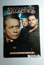 BATTLESTAR GALACTICA S4 ADAMA TIGH TYROL MINI POSTER BACKER CARD (NOT A movie)