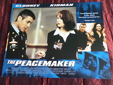 THE PEACEMAKER - NICOLE KIDMAN - GEORGE CLOONEY - USA LOBBY CARD11X14 -#2