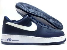 NIKE AIR FORCE 1 MIDNIGHT NAVY/WHITE-MID NAVY SIZE MEN'S 14 [488298-436]