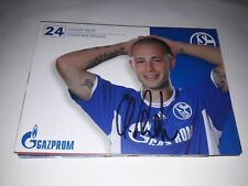 Signierte AK Christian Pander FC Schalke 04 NEU