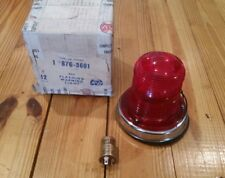 Vintage NOS KD 876 Emergency Red Light Beacon Police Fire Car Truck Signal Lamp