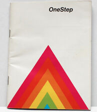 Polaroid One Step Rainbow Instant Film Land Camera Manual Guide English 1970s