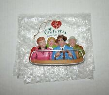 I LOVE LUCY California Here We Come Christmas Tree Ornament. Episode #110