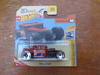 HOT WHEELS 2018 334/365 BONE SHAKER ON CARD